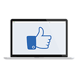 Facebook pro icon - small